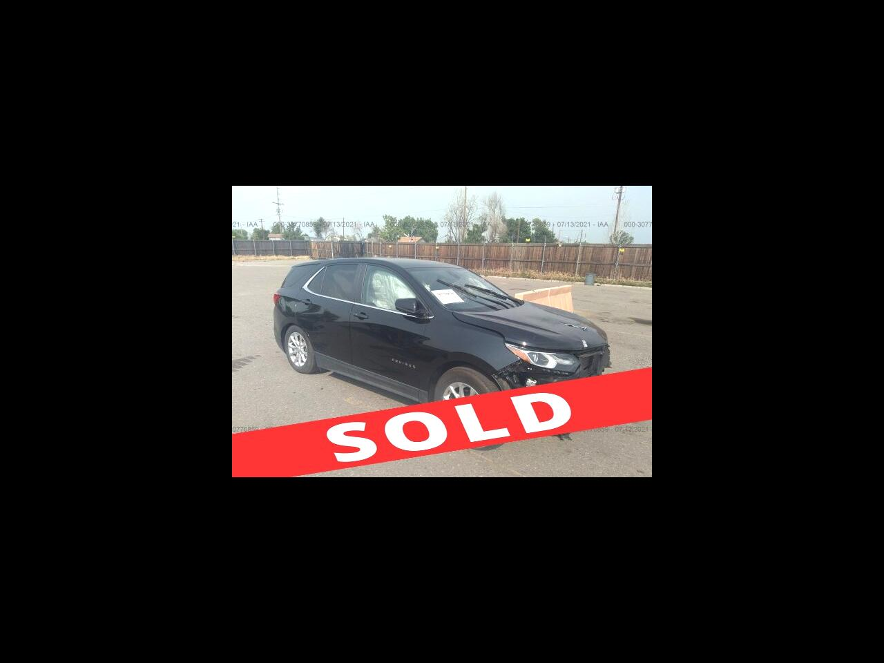 2021 Chevrolet Equinox FWD 4dr LT w/1LT