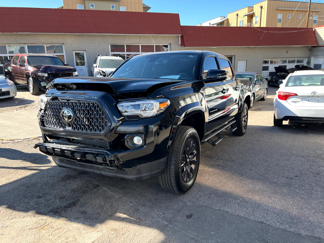2021 Toyota Tacoma 4WD Limited Double Cab 5' Bed V6 AT (Natl)