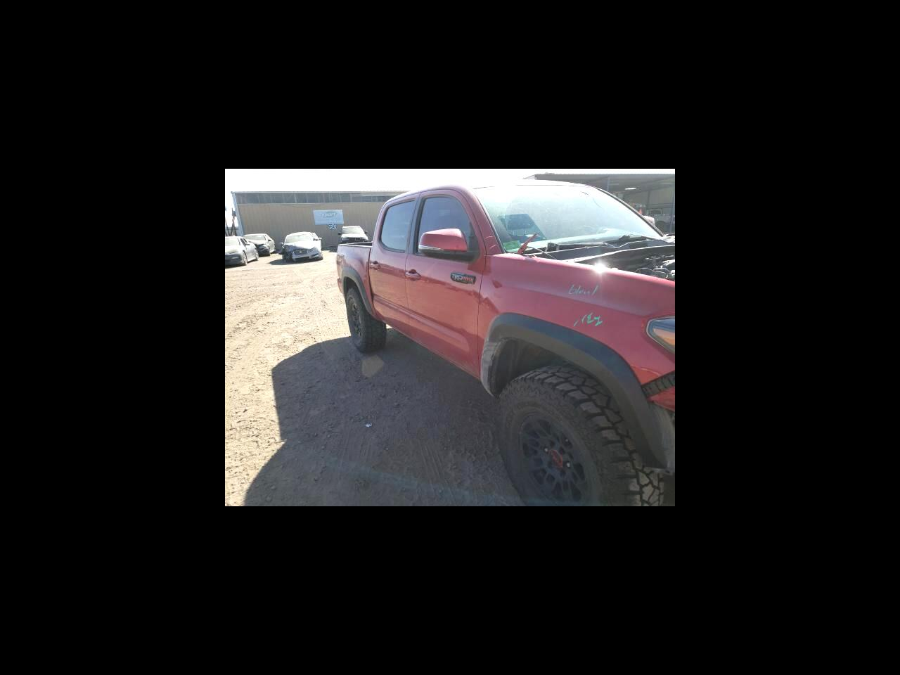 2017 Toyota Tacoma TRD Off Road Double Cab 5' Bed V6 4x4 MT (Natl)