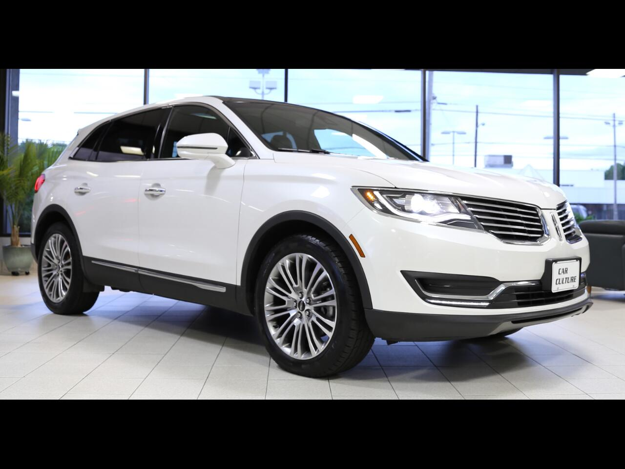 Lincoln MKX AWD 4dr Reserve 2017