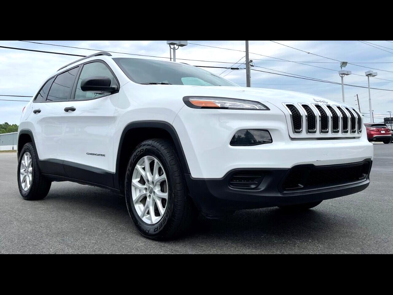 Jeep Cherokee 4dr Sport 4WD 2016