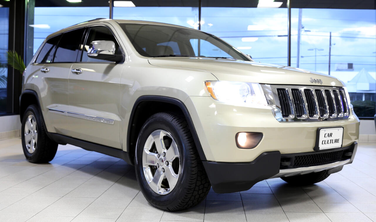 Jeep Grand Cherokee 4dr Limited 4WD 2012