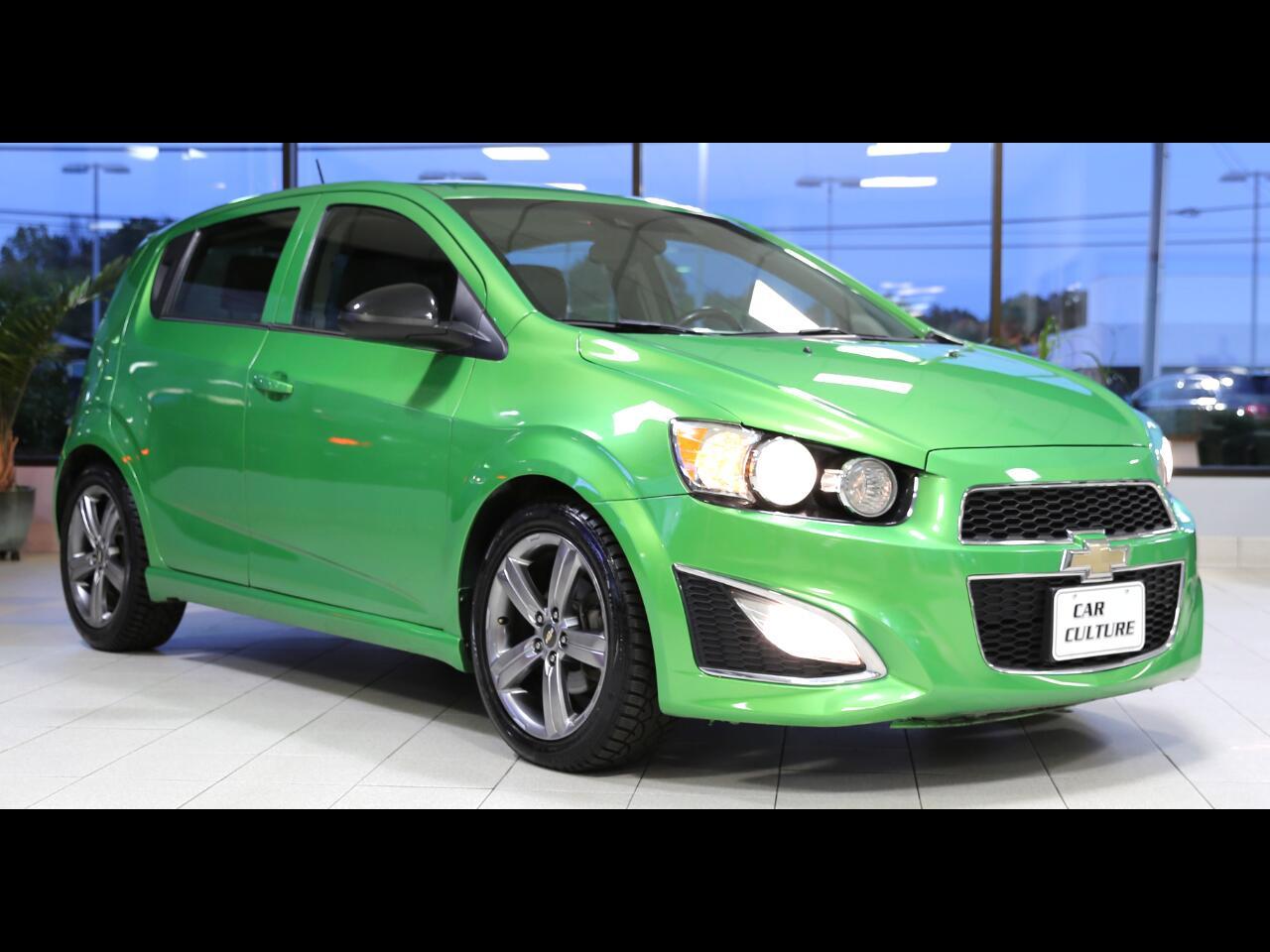 Chevrolet Sonic 5dr HB Auto RS 2015