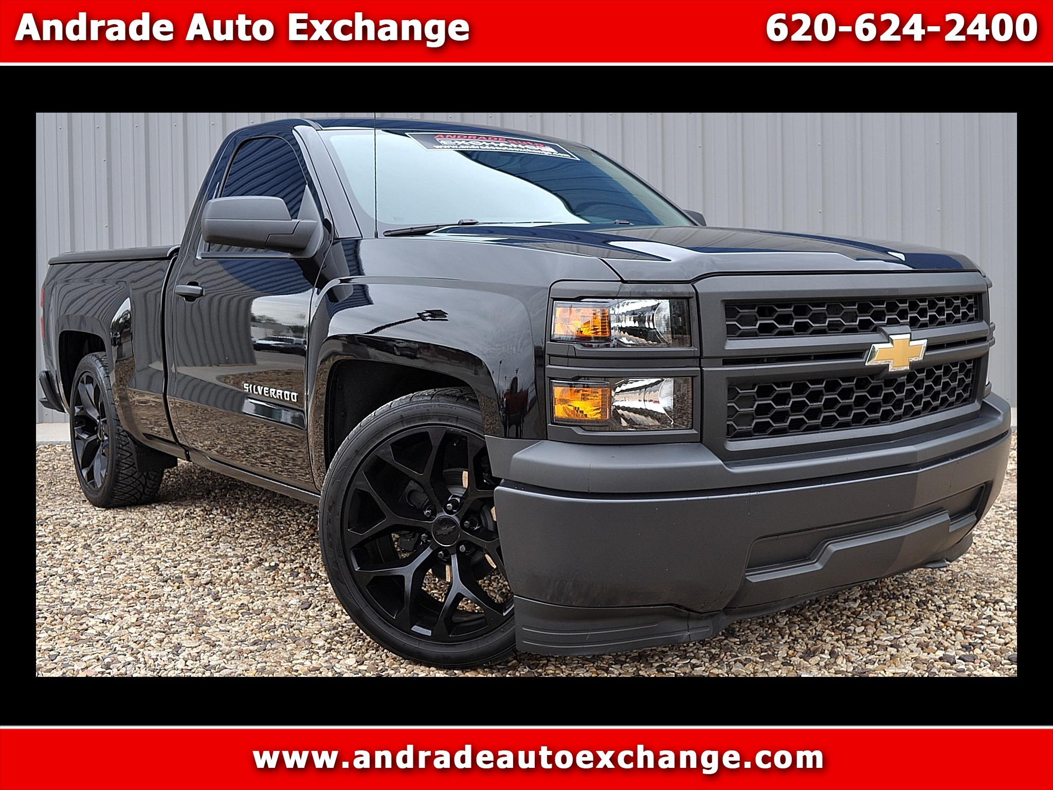 2015 Chevrolet Silverado 1500 Work Truck Short Box 2WD