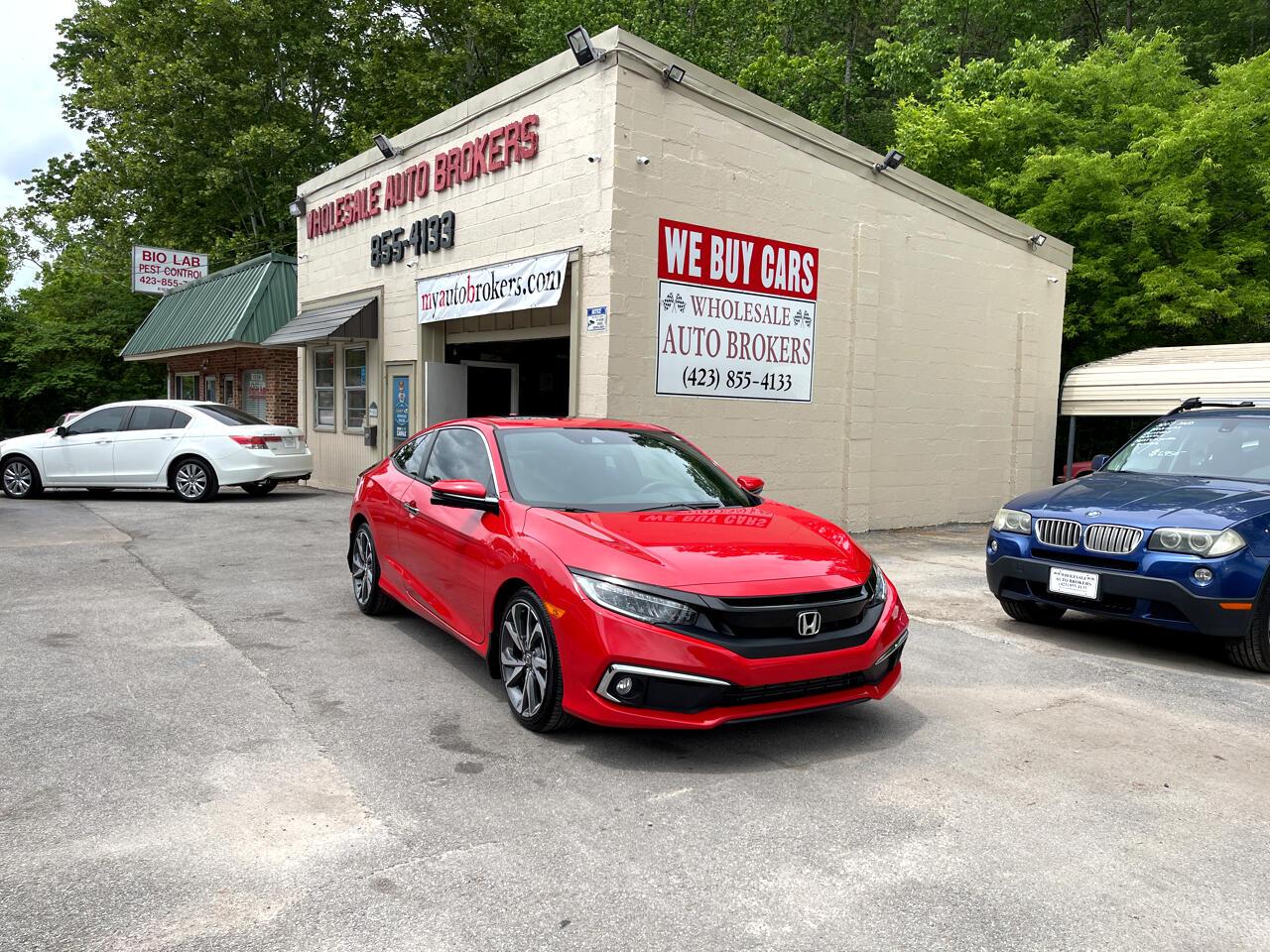 2019 Honda Civic Touring Coupe CVT