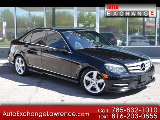 2011 Mercedes-Benz C-Class C300 4MATIC Luxury Sedan