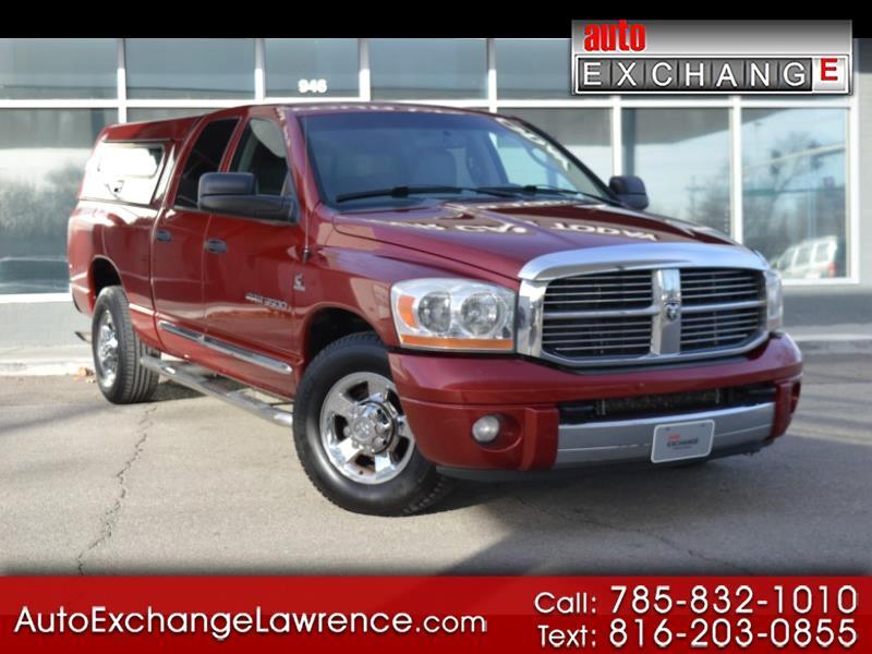 2006 Dodge Ram 3500 Laramie Quad Cab Long Bed 2WD