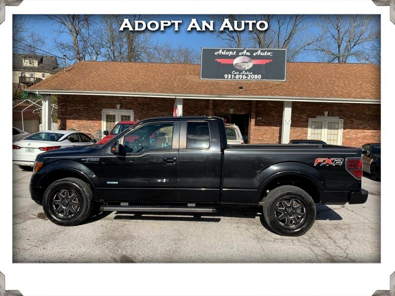 "Ford F-150 2WD Supercab 133"" FX2 2013"