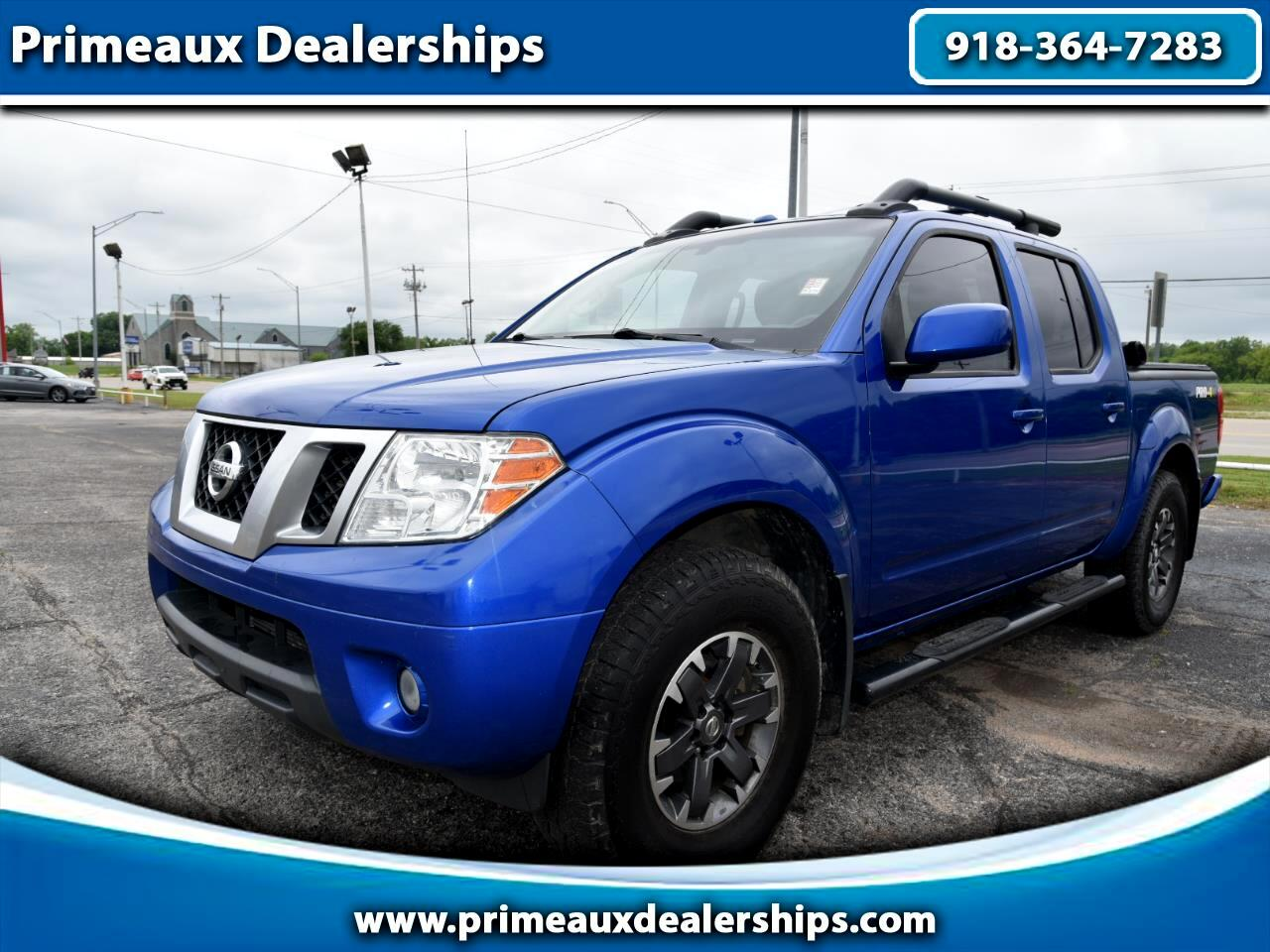 Nissan Frontier 4WD  2014