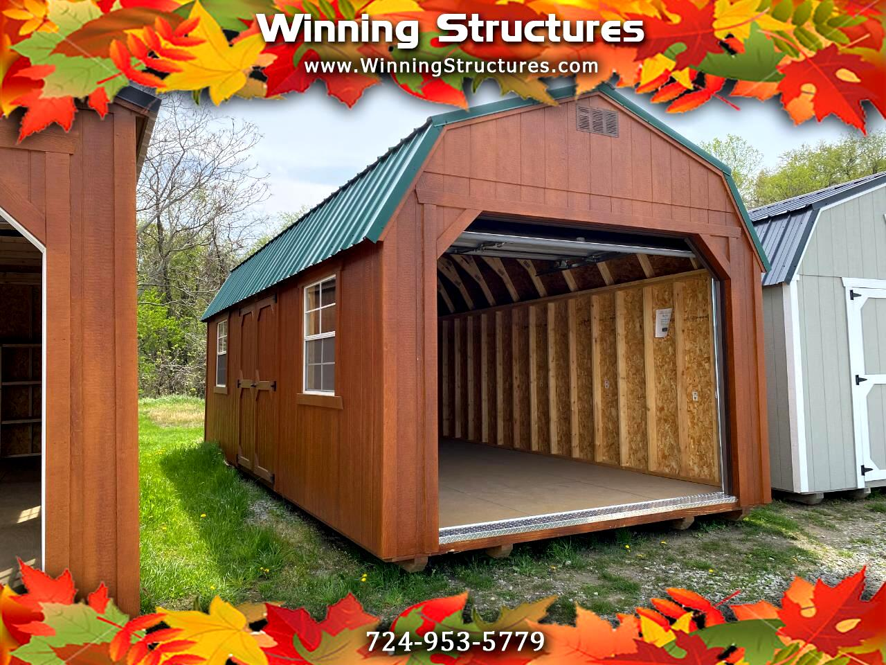 Backyard Outfitters Lofted Garage  2021