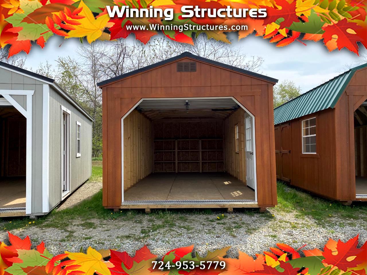 Backyard Outfitters Utility Garage  2021