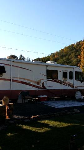 2000 Ford Stripped Chassis Motorhome Holiday Rambler Endeavor