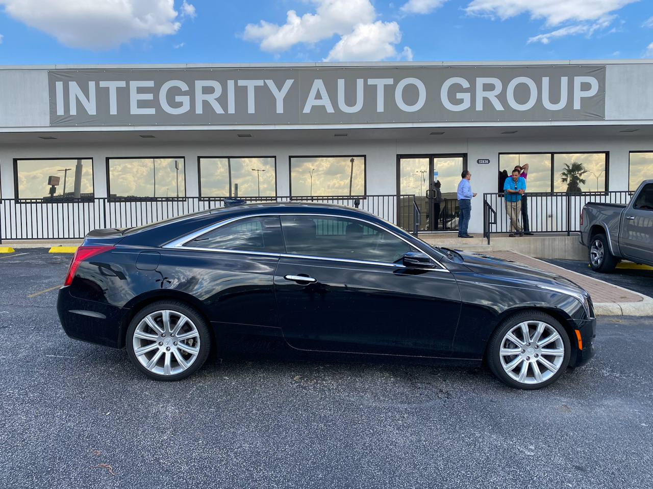 2017 Cadillac ATS Coupe 2dr Cpe 2.0L AWD