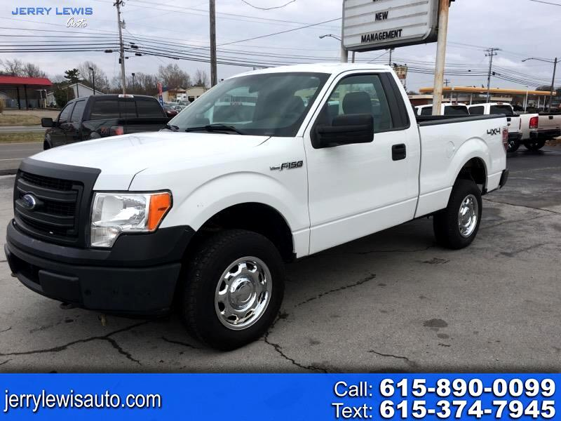 Ford F-150 XL 8-ft. Bed 4WD 2013
