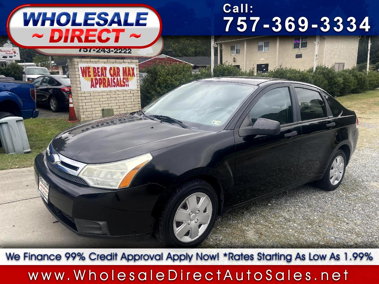 Ford Focus 4dr Sdn S 2008