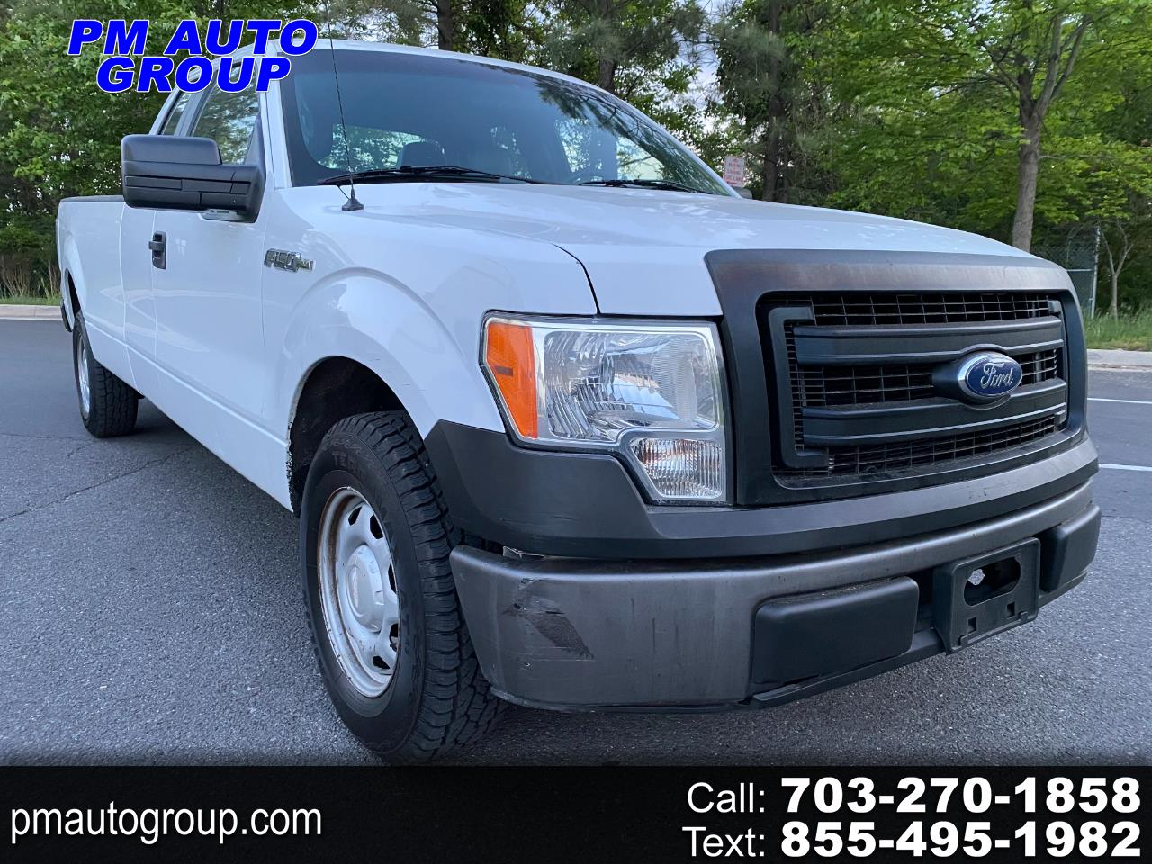 """Ford F-150 2WD SuperCab 163"""" XL w/HD Payload Pkg 2013"""