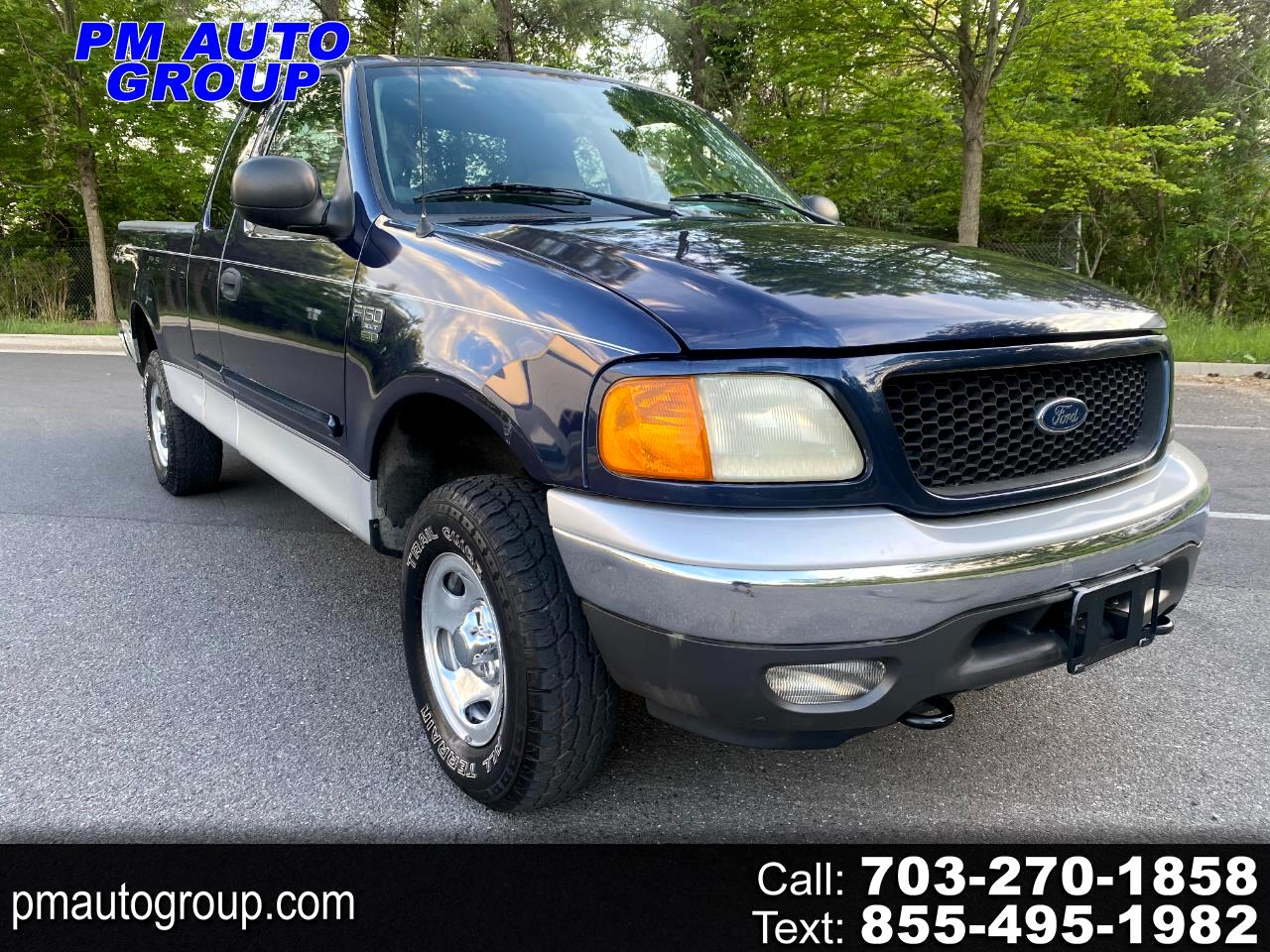 """Ford F-150 Heritage Supercab 139"""" XLT 4WD 2004"""