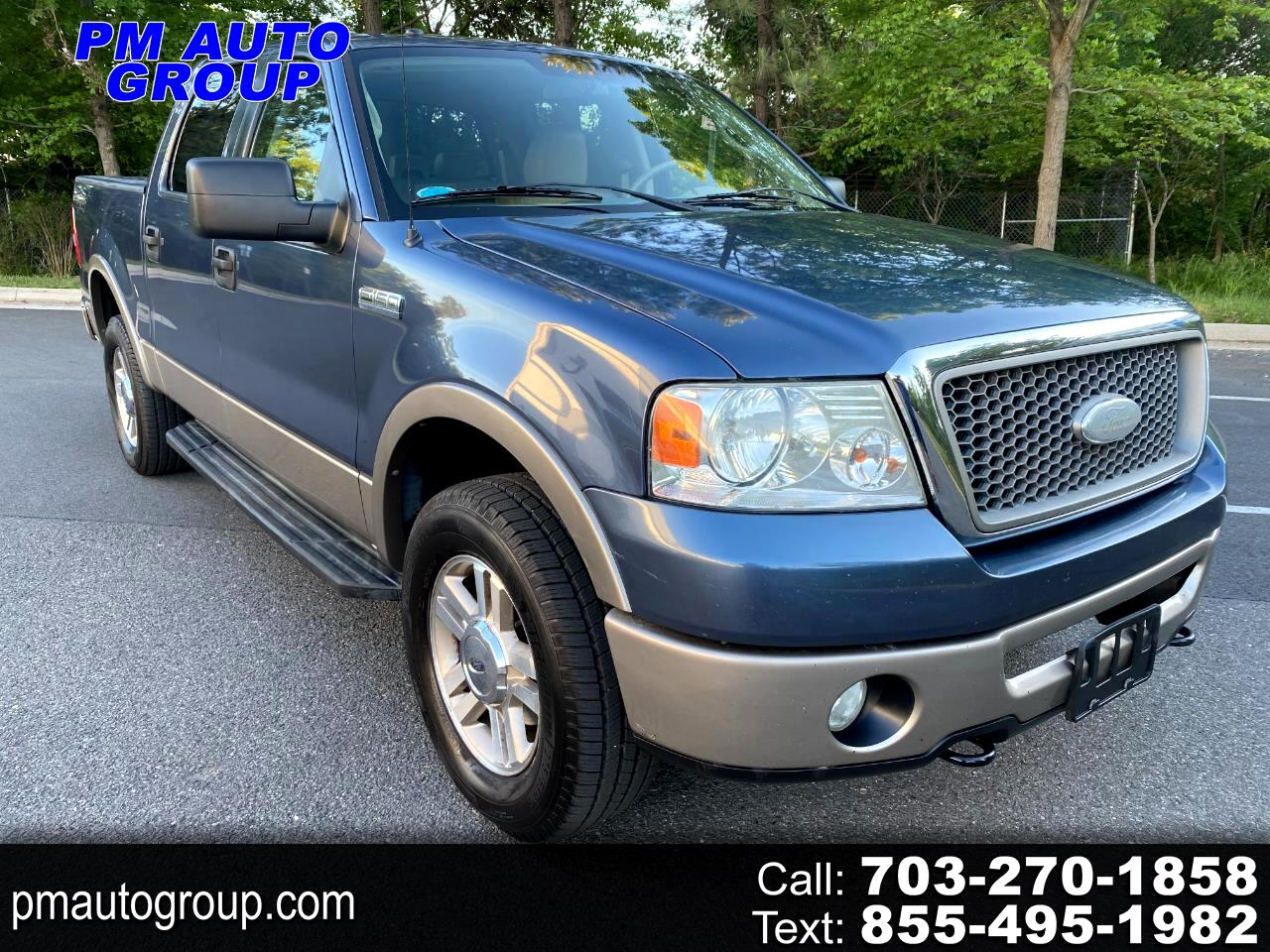 """Ford F-150 4WD SuperCab 133"""" Lariat 2006"""