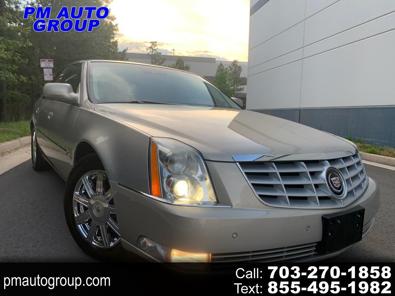 Cadillac DTS 4D Sedan 2008