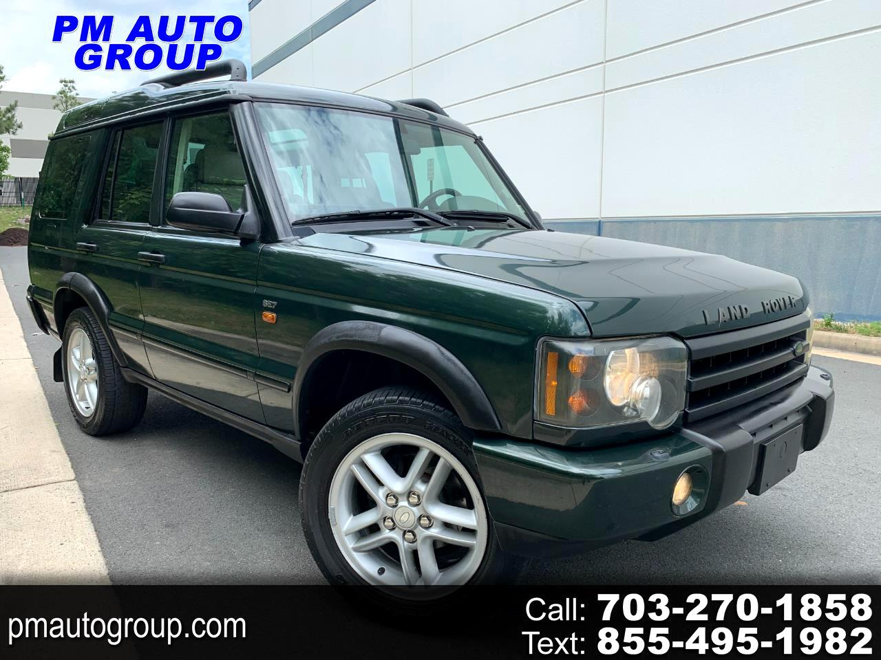 Land Rover Discovery 4dr Sport Utility SE7 2004