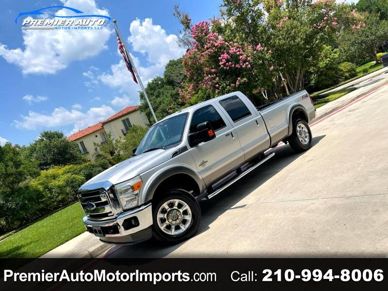 Ford F-350 SD Lariat SuperCab 4WD 2013