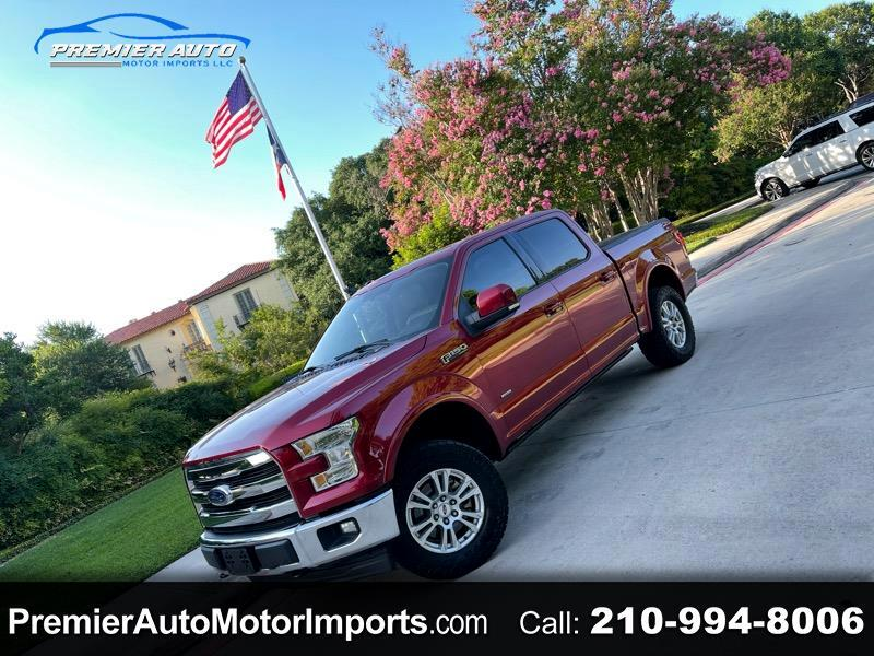 Ford F-150 Lariat SuperCrew 5.5-ft. Bed 4WD 2017