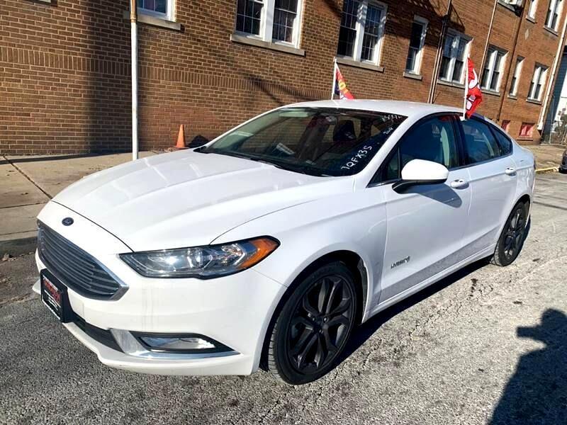 Ford Fusion Hybrid  2018