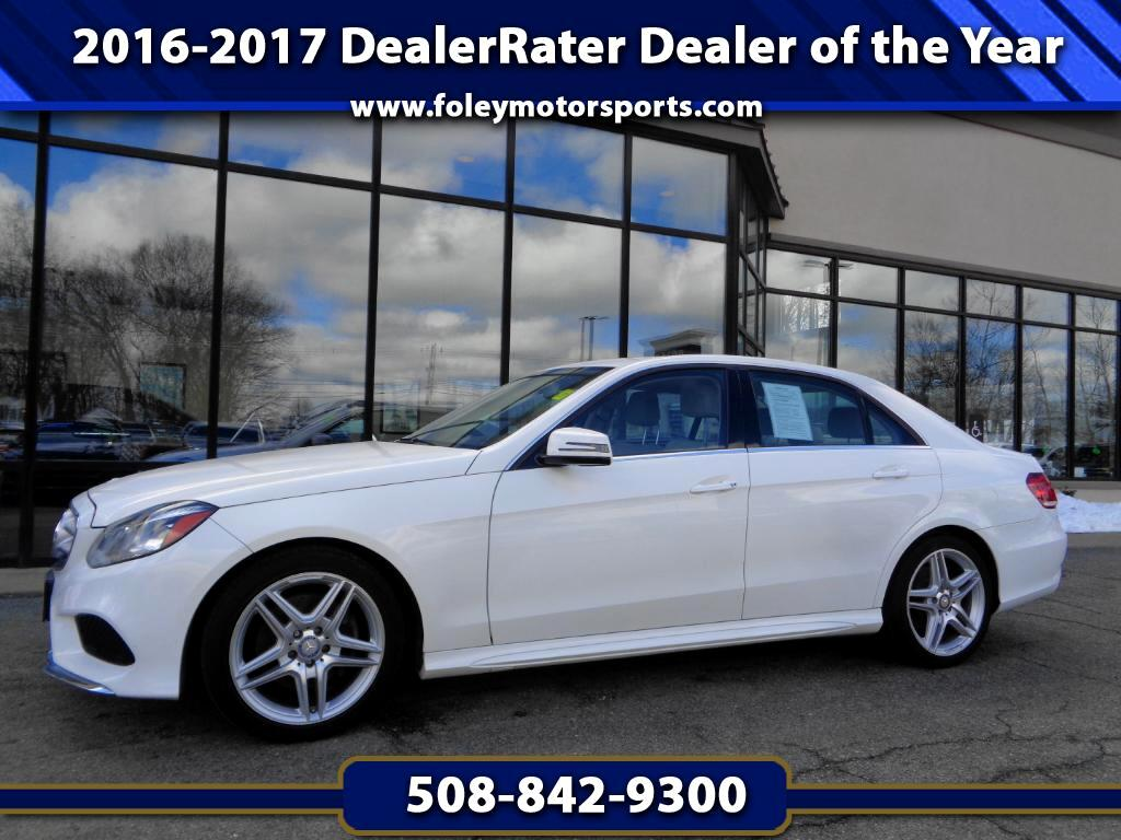 2014 Mercedes-Benz E-Class E350 Sport 4MATIC Sedan