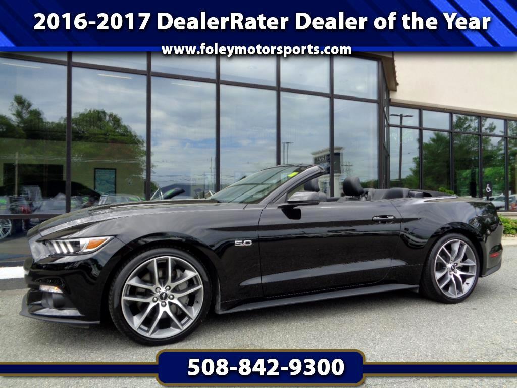 2016 Ford Mustang GT Premium Convertible