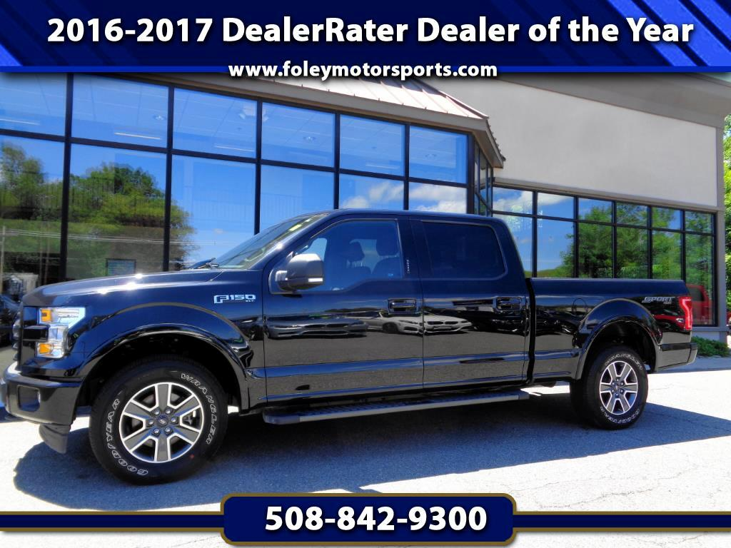 2017 Ford F-150 XLT Sport SuperCrew 6.5-ft Bed 4WD