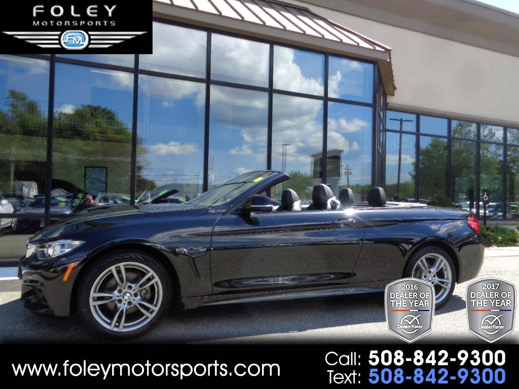 used 2018 bmw 4 series 430i xdrive sulev convertible for. Black Bedroom Furniture Sets. Home Design Ideas