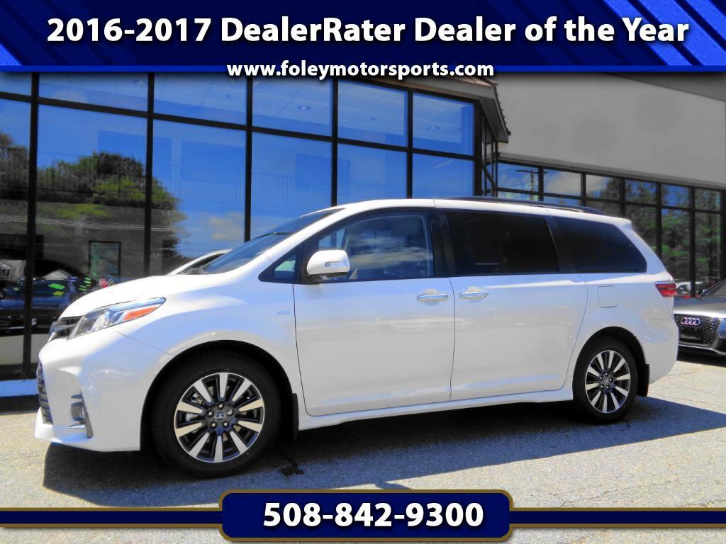 2018 Toyota Sienna Limited Premium AWD 7-Passenger V6