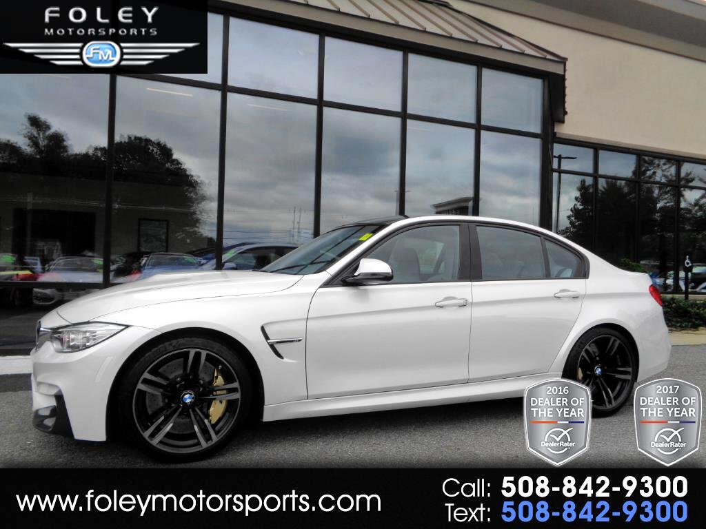2015 BMW M3 4dr Sdn