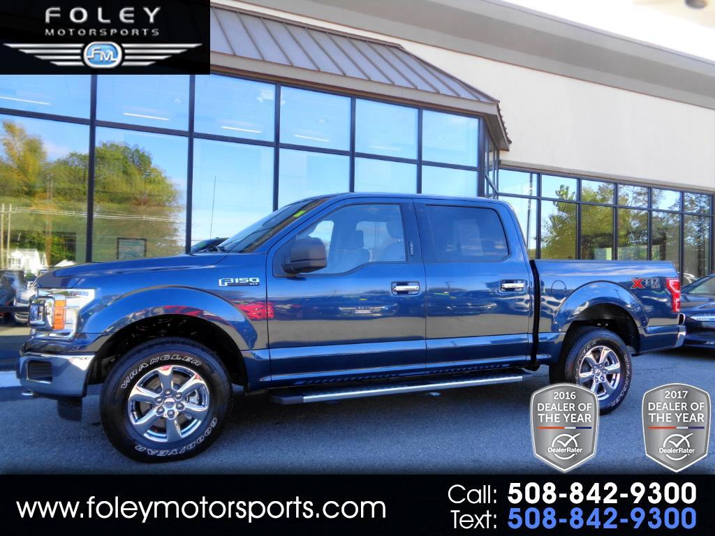 Used 2018 Ford F 150 Xlt Supercrew 5 5 Ft Bed 4wd For
