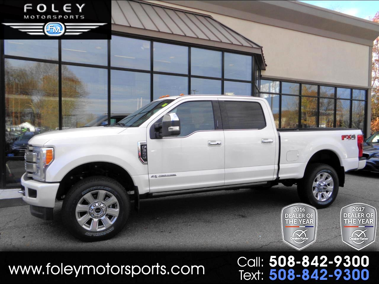 2018 Ford Super Duty F-350 SRW Platinum 4WD Crew Cab 6.75' Box