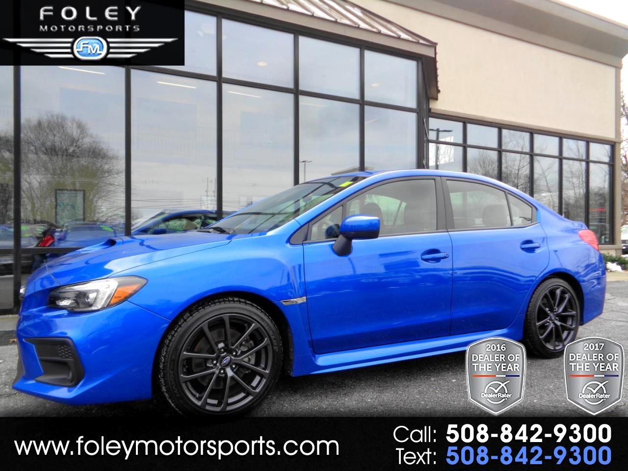 2018 Subaru WRX Limited Manual