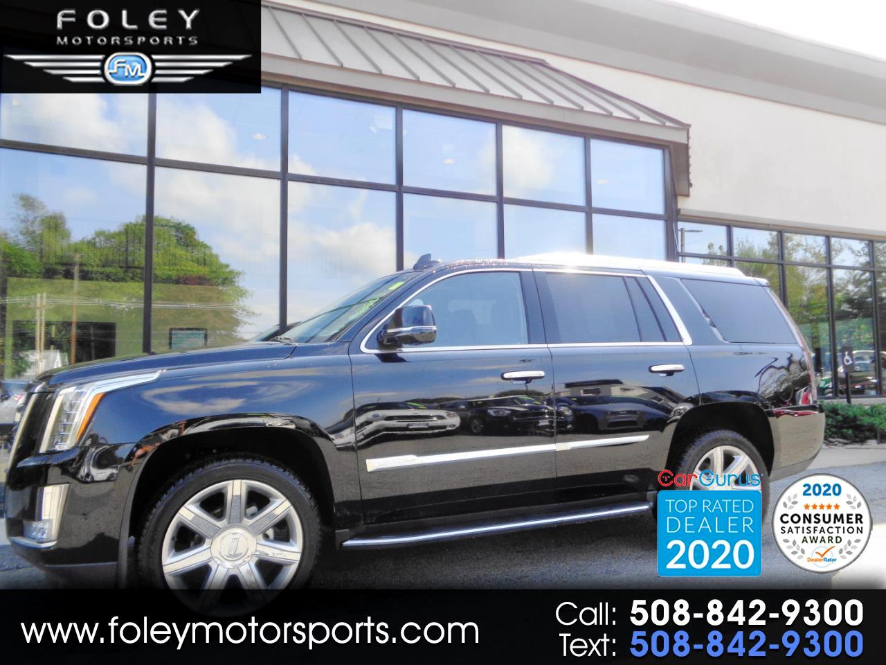 Cadillac Escalade 4WD 4dr Luxury 2018