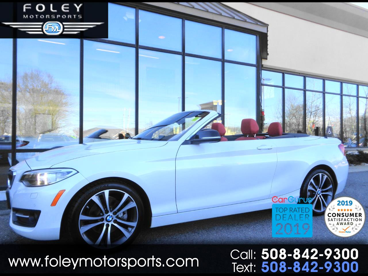 BMW 2 Series 2dr Conv 228i xDrive AWD 2015