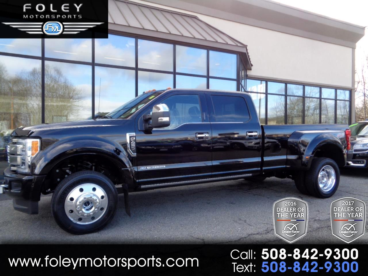 2019 Ford Super Duty F-450 DRW Platinum 4WD Crew Cab 8' Box