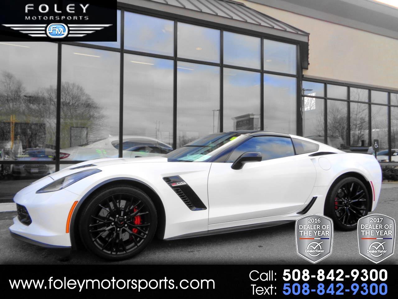 2018 Chevrolet Corvette 2dr Z06 Cpe w/1LZ