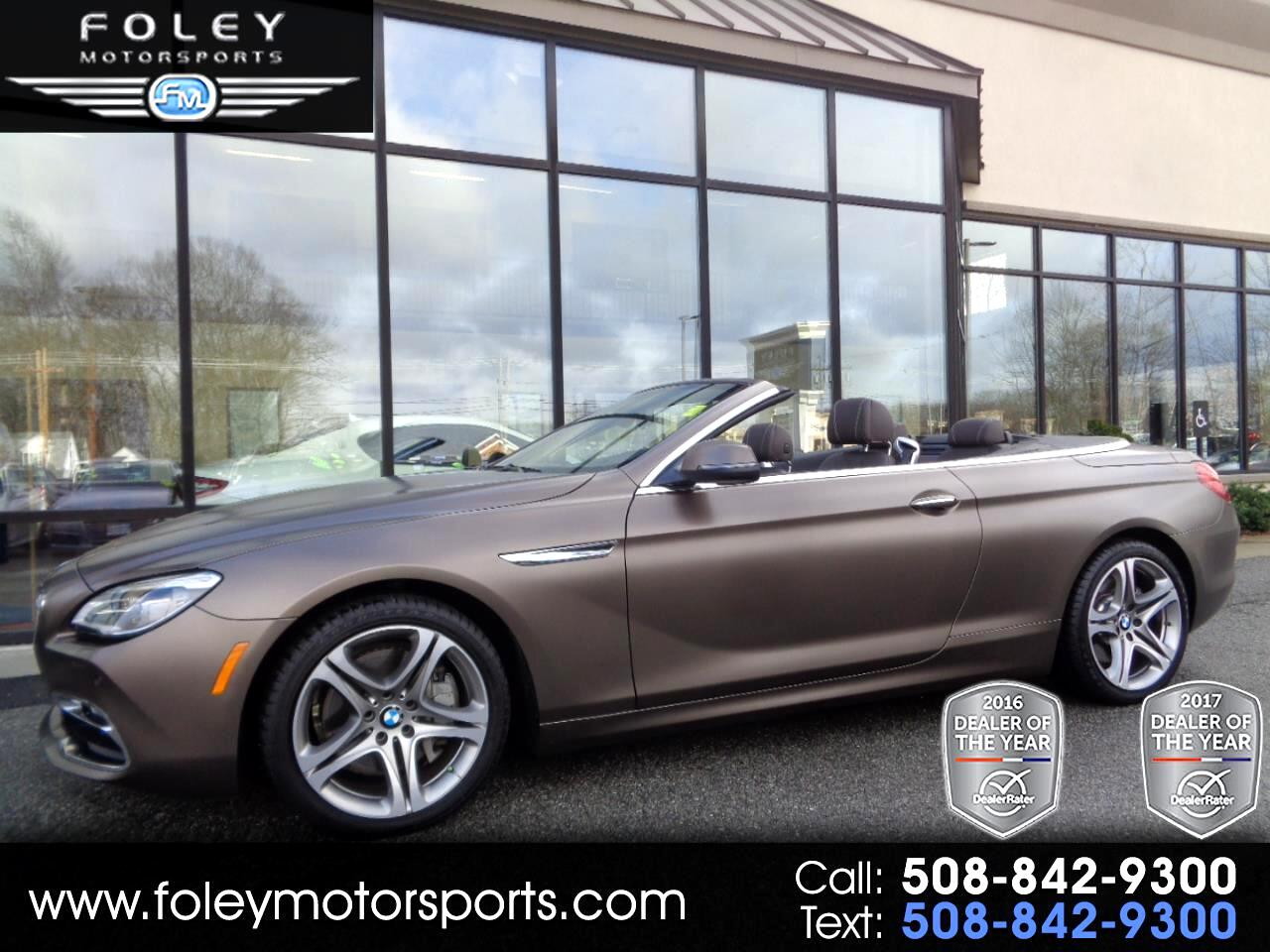 2016 BMW 6 Series 2dr Conv 650i xDrive AWD