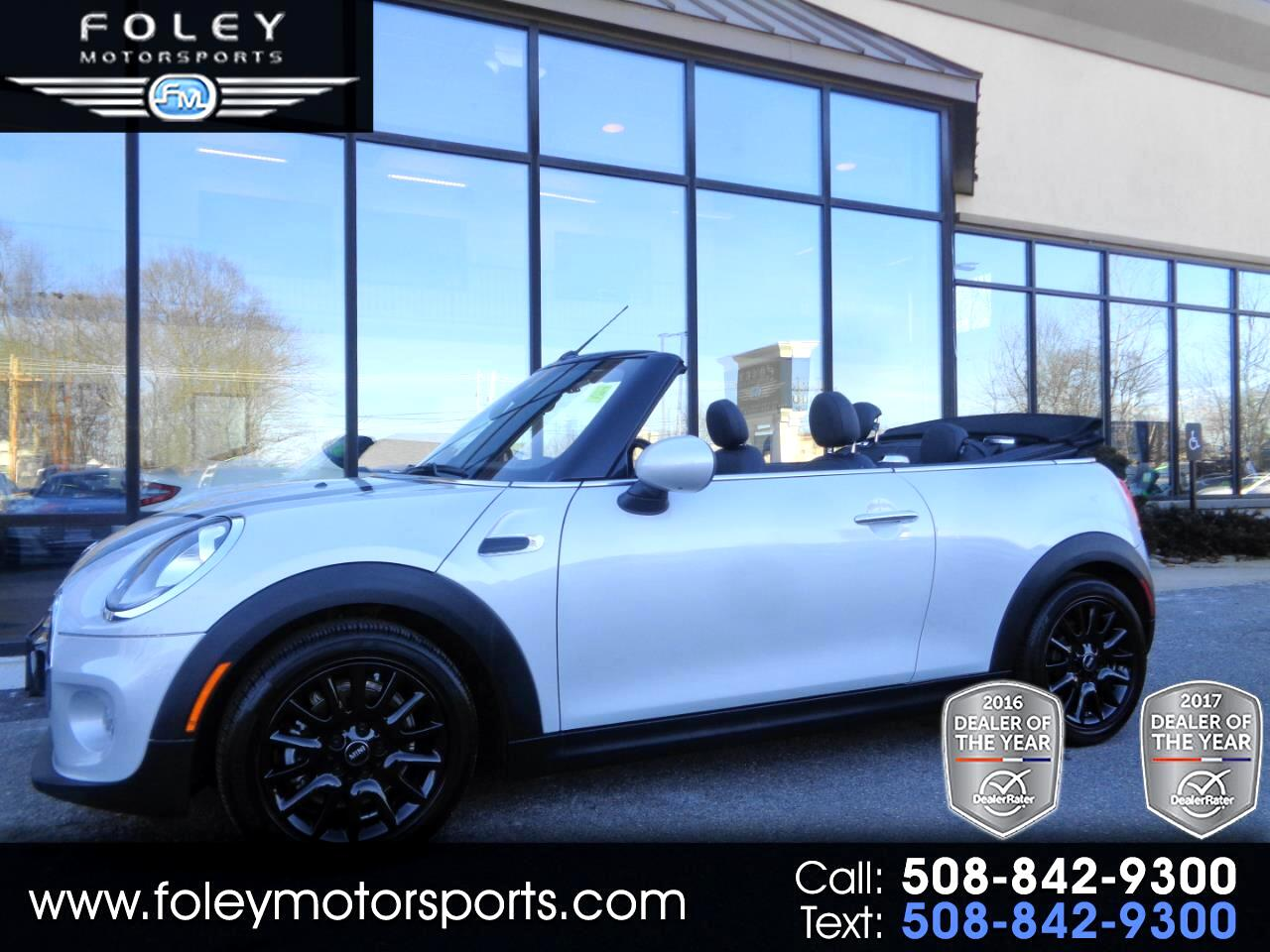 2017 MINI Convertible Cooper FWD