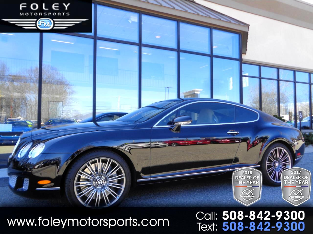 2008 Bentley Continental GT 2dr Cpe Speed