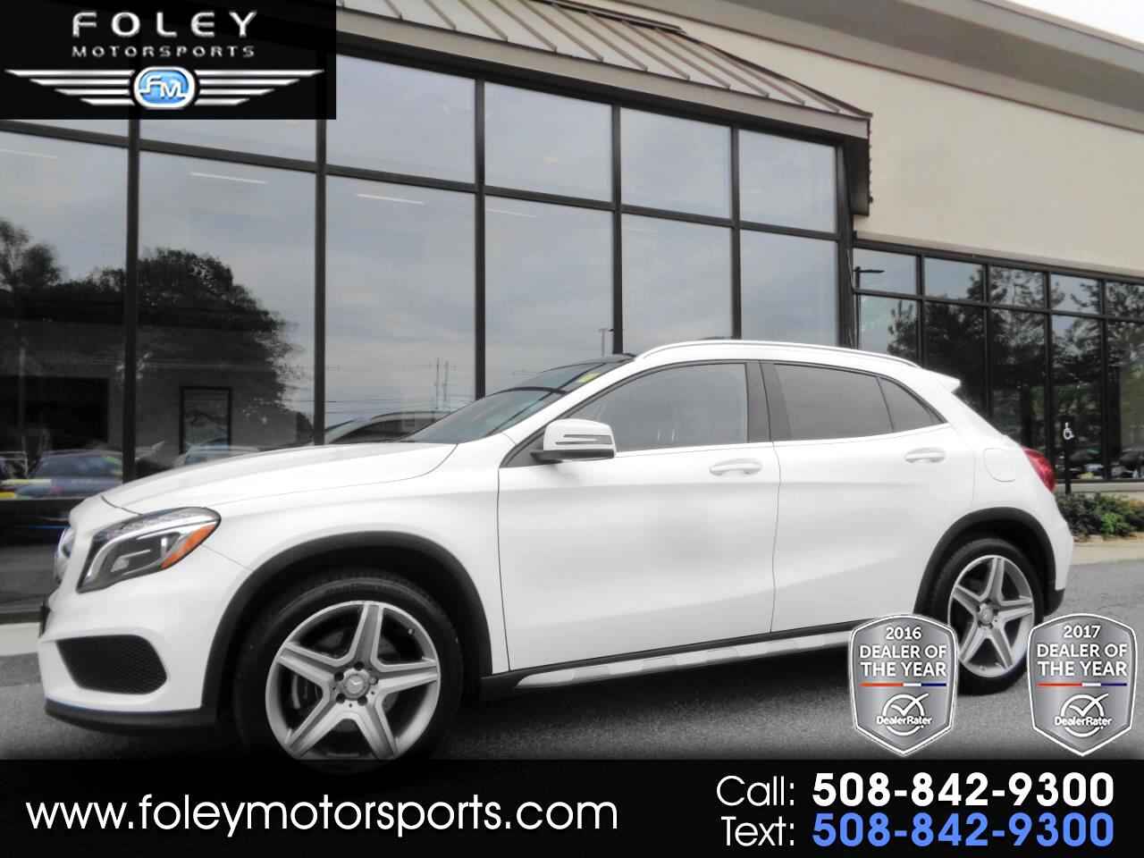 2016 Mercedes-Benz GLA 4MATIC 4dr GLA 250