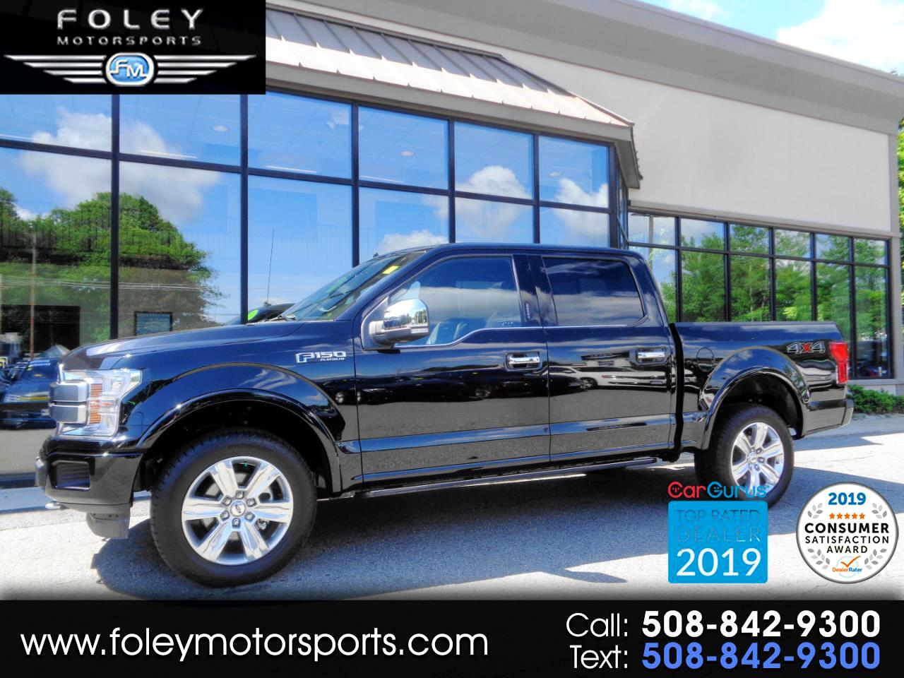 2019 Ford F-150 Platinum SuperCrew 5.5-ft. Bed 4WD