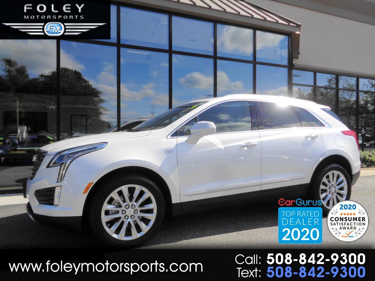 Cadillac XT5 AWD 4dr Platinum 2017