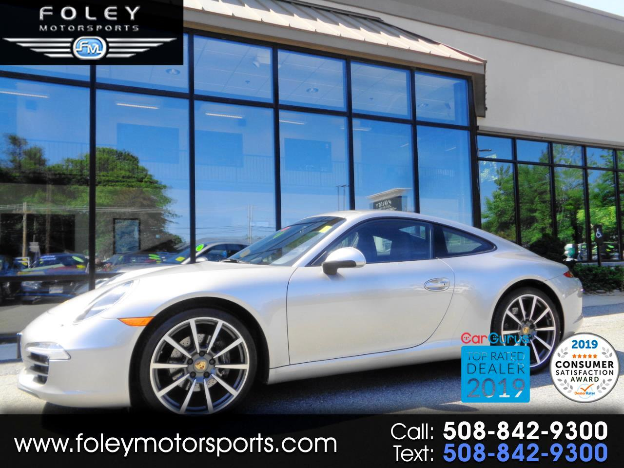 2012 Porsche 911 2dr Cpe 991 Carrera
