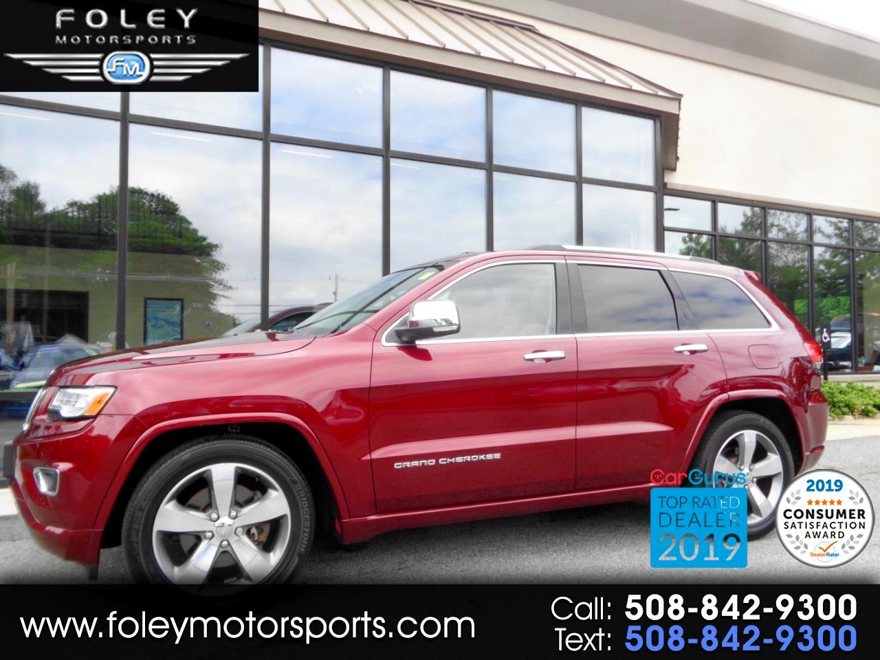 Jeep Grand Cherokee 4WD 4dr Overland 2016