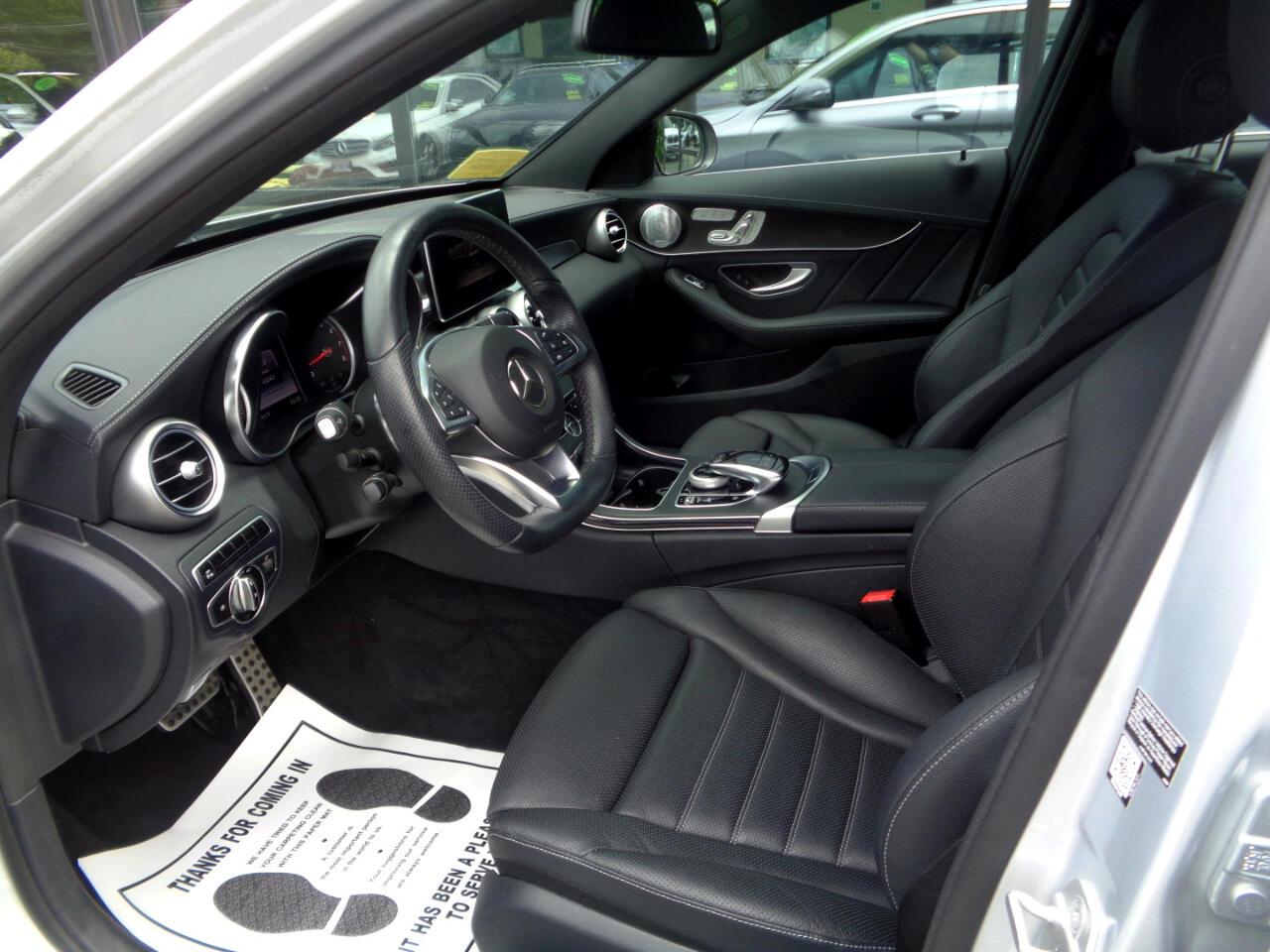Mercedes-Benz C-Class 4dr Sdn C 400 4MATIC 2015