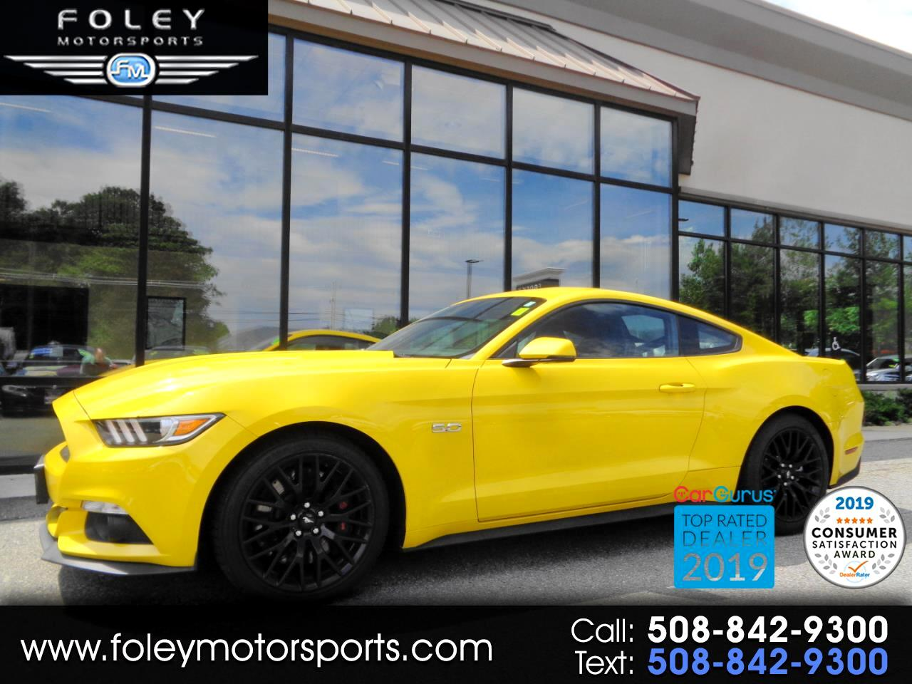 Ford Mustang 2dr Cpe GT Premium 2016